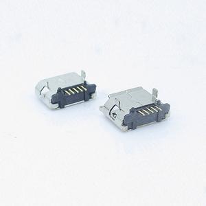 micro 5P母座两插脚DIP 脚距5.9-5.65