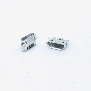 MICRO USB母座 反向DIP7.7 贴片