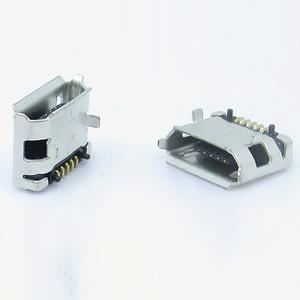 MICRO母座 USB 5PIN 5.9 6.4 7.2 全贴式母座