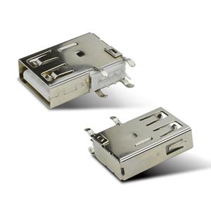 USB2.0侧插长体直边