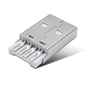USB2.0公座 焊线式短体带槽