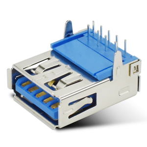 USB3.0 90度插脚