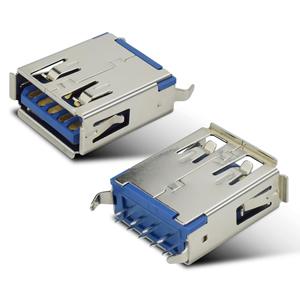 USB3.0 AF180度插脚常规